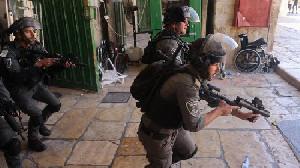 Pria Palestina Tewas Tertembak