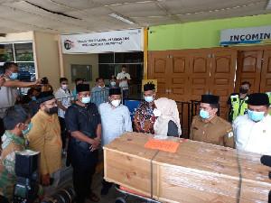 Jenazah Septia Ulfa Lestari Sudah Sampai Di Aceh