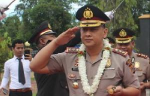 Taufik Hidayat Ditarik Ke Mapolda Aceh, Mike Hardy Wirapraja Jabat Kapolres Bireuen