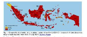 WHO Tandai Kuning Peta Indonesia, Nilai Kasus Covid-19 Aceh Paling Rendah