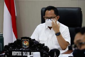 PPKM Diperpanjang, Mendagri Minta Kepala Daerah Berkoordinasi dengan Ormas dan Masyarakat