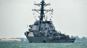 Kapal Perang AS Yang Masuki Laut China Selatan Diusir China