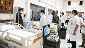 Prabowo Jadikan Pusdiklat RS Darurat Karena Pandemi Mengganas