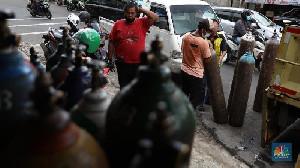 Stok Oksigen di Denpasar Krisis