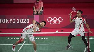 Badminton, Ahsan/Hendra Juara Grub D Olimpiade Tokyo