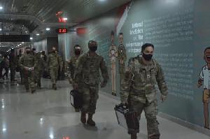 US Army Tiba di Indonesia Untuk Ikuti Latihan Bersama TNI AD Indonesia