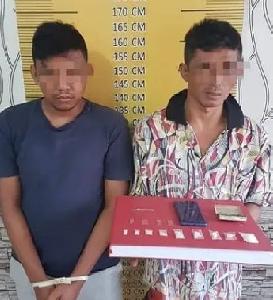 Meresahkan, 2 Pengedar Sabu  Digerebek  Polisi di Langsa