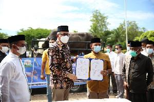 Aceh Besar Terima Sapi Qurban Bantuan Presiden Republik Indonesia