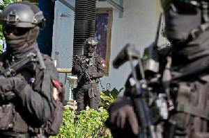 Densus 88 Tangkap Terduga Teroris di Sumut