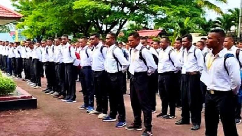 Penggunaan Dana Otsus Papua, 1500 Anak Muda Papua Masuk Polisi