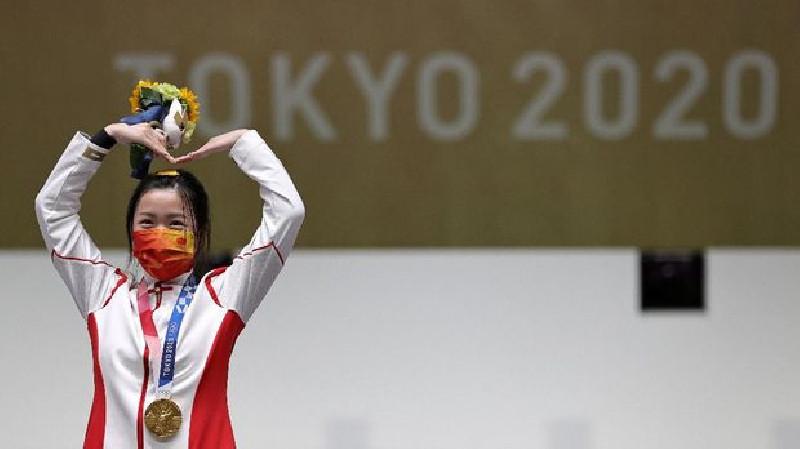 Klasemen Olimpiade Tokyo, Indonesia Peringkat ke-38