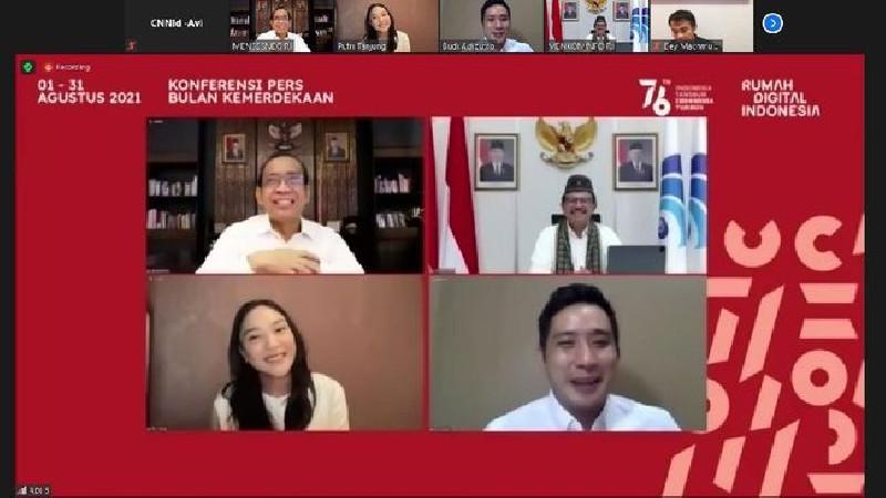 RDI Rayakan Kemerdekan RI ke-76 Secara Virtual