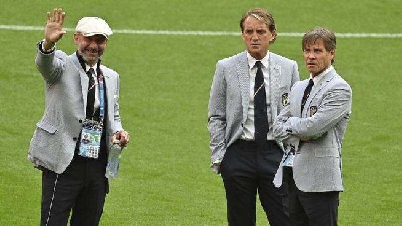 Ritual Aneh Italia Jelang Final Euro
