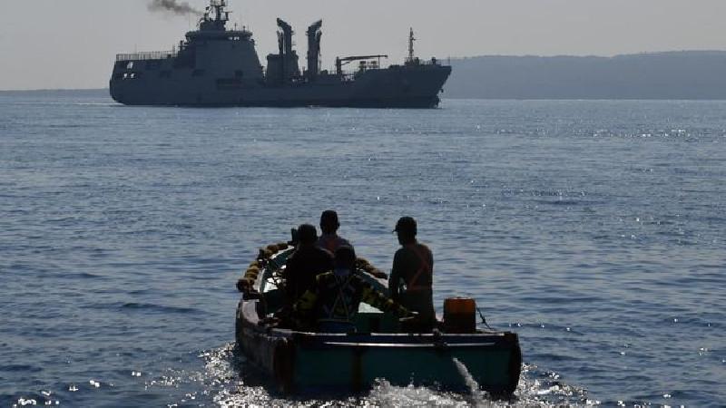TNI AL Lepas Tembakan Ke Udara, Sergap Penyelundup Sabu