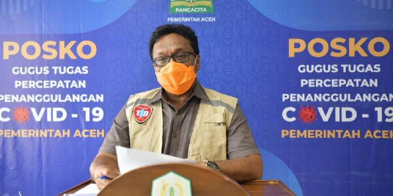 SAG: Kasus Covid-19 Bertambah, Aceh Kembali Zona Merah dan Oranye