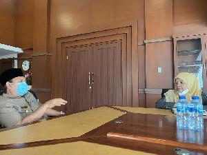 Ketua Mahkamah Syar'iyah Aceh Bertemu Bupati Aceh Besar, Ada Apa?