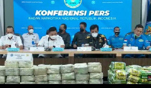 BNN Ungkap Penyelundupan 324 Kilogram Sabu Asal Thailand di Aceh