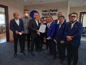 Taufiqul Hadi Sah Sebagai Ketua DPW Nasdem Aceh