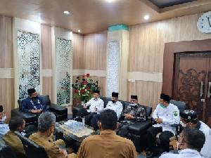 Kemenag Aceh dan Pemko Kota Sabang Sepakat Bersinergi Kembangkan Madrasah