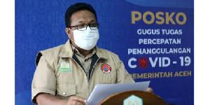 Kasus Covid-19 Bertambah 204 Orang di Aceh