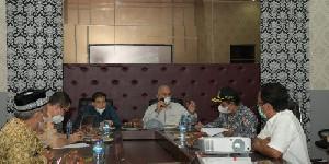 Sekda Aceh dan 7 Bupati Bahas Vaksinasi dan Insentif Nakes Agar Dipercepat