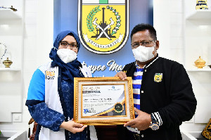 JSI Beri Penghargaan Kepada Aminullah Atas Prestasinya Dalam Memimpin Kota Banda Aceh