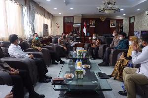 Kapolda Aceh Terima Kunker Pemangku Keuangan di Aceh Langsung di Ruang Kerjanya