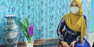Ketua Dekranasda Beri Semangat Pelaku UMKM Aceh Tamiang