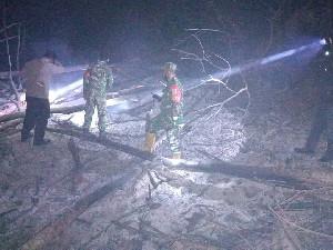 Titik Api Terpantau Hot Spot, Kebakaran Lahan di Pidie Mencapai 3 Hektar