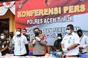 Gading Gajah Tanpa Kepala di Aceh Timur Dibeli Dengan Harga Puluhan Juta
