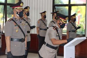 Sertijab Pejabat Polda Aceh dan Kapolres Dipimpin Kapolda Aceh, Berikut Nama-Namanya