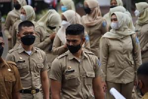 1.667 Pamong Praja Muda IPDN Dilantik Wapres, 67 Orang Berasal Dari Aceh