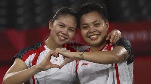 Greysia/Apriyani Bawa Pulang Emas Ganda Putri Badminton Olimpiade Tokyo