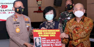 Heryanti Ditetapkan Sebagai Tersangka, Sumbangan Keluarga Akidi Tio Rp2 Triliun Ternyata Penipuan