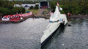 Indonesia Ternyata Bisa Bikin Kapal Perang 'Siluman' Canggih