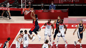 Basket Olimpiade Tokyo, AS Bekuk Prancis dan Rebut Medali Emas
