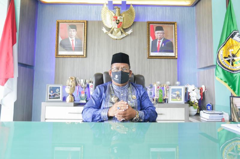 Banda Aceh Masih Zona Merah, Wali Kota Minta Warga Terus Waspada