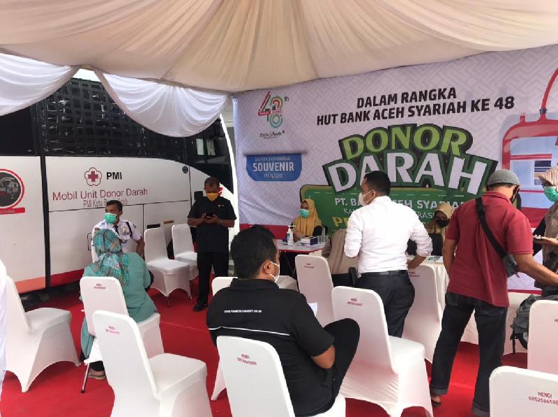 BAS Rayakan Milad Ke-48, Laksanakan Donor Darah Bersama PMI