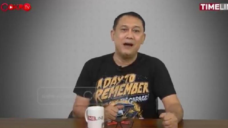 Denny Siregar Tegaskan Capaian Vaksin di Jakarta Bukan Kerja Anies Baswedan