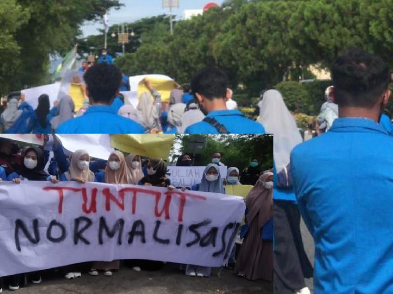 Aksi Demo Mahasiswa Aceh Dibubar Paksa, Berikut Kronologis Lengkapnya