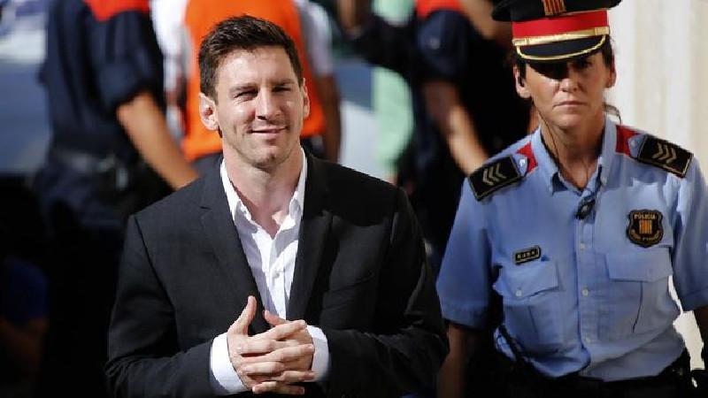 Messi Ucapkan Perpisahan Dengan Barcelona 8 Agustus