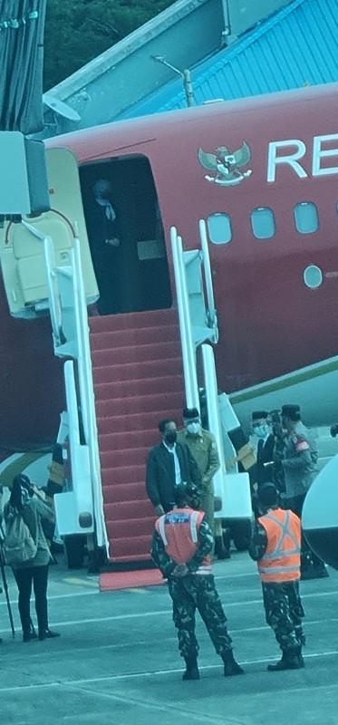 Kedatangan Presiden RI Langsung Disambut Gubernur Aceh