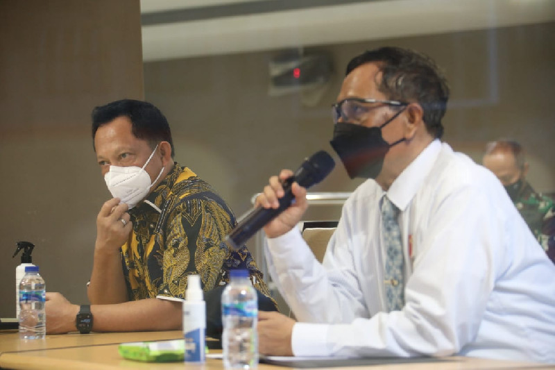 Pastikan PON dan Papernas Siap, Mendagri dan Menko-Polhukam Kunker ke Papua