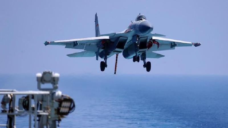 Pesawat Tempur China Lakukan Pengeboman di Wilayah Taiwan