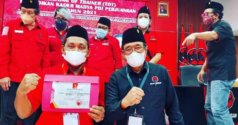 PDIP Buat TOT Madya, Muslahuddin Daud Terbaik