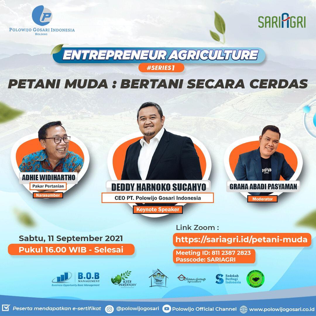 Pulowijo Gosari Siap Fasilitasi Petani Milenial di Indonesia
