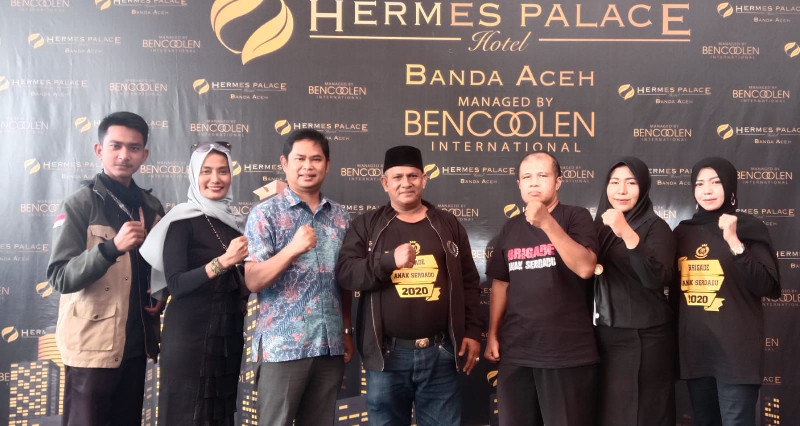Jelang HUT Ke-15, DPD BAS Aceh Audiensi dengan GM Hermes Palace Hotel