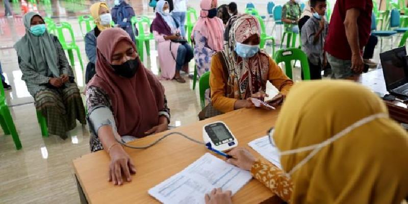 Vaksinasi Massal Pemerintah Aceh Telah Mencapai 72.282 Orang