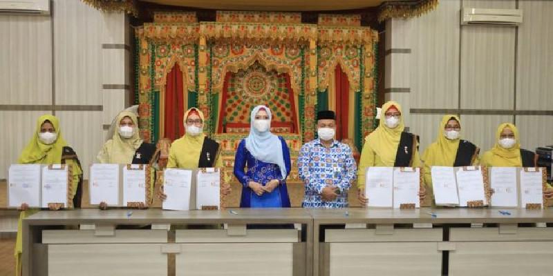 Dyah Erti Apresiasi Kerja Sama BKKBN dengan PAUD se-Kota Banda Aceh