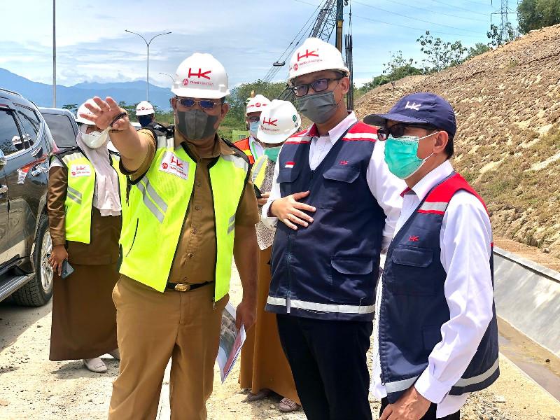 Penyelesaian Tol Sibanceh, Pembangunan Ruasnya Terus Dipacu
